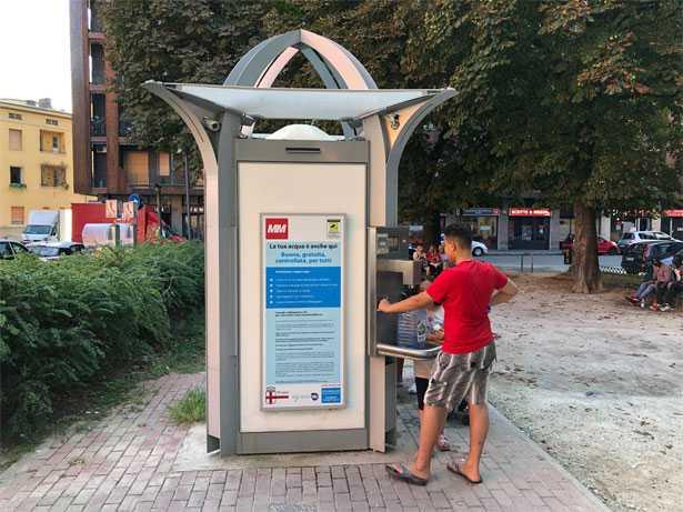 Casa dell'acqua - Largo Tel Aviv - Milano