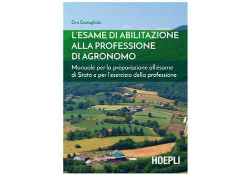 Esame di agronomo: libro per la preparazione