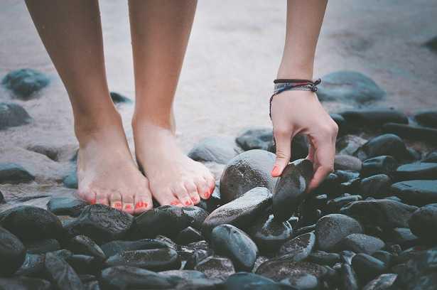 Scrub piedi