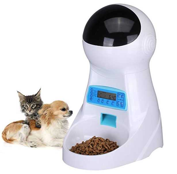 distributore cibo cani gatti