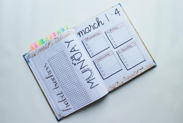 Come creare un bullet journal