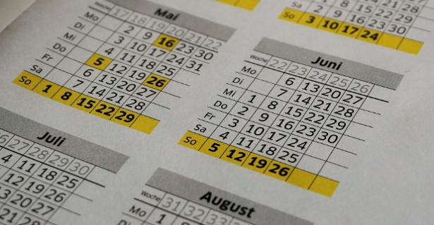 Calendari nel mondo