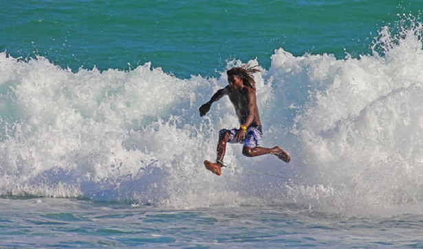 Corsa in acqua