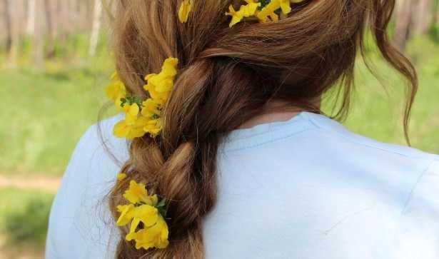 Capelli in primavera