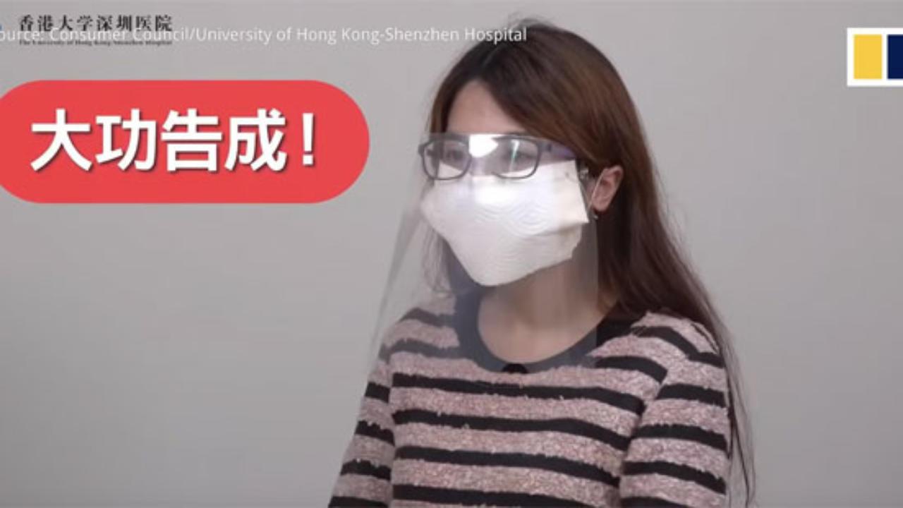 maschera bocca fai da te