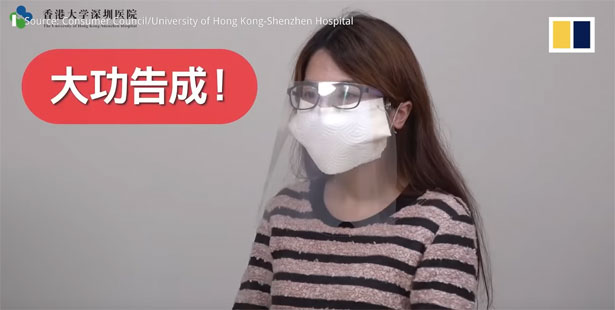 mascherina antivirus fai da te emergenza