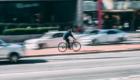ciclista in città