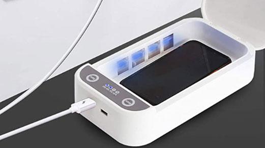 Disinfettare smartphone con UV