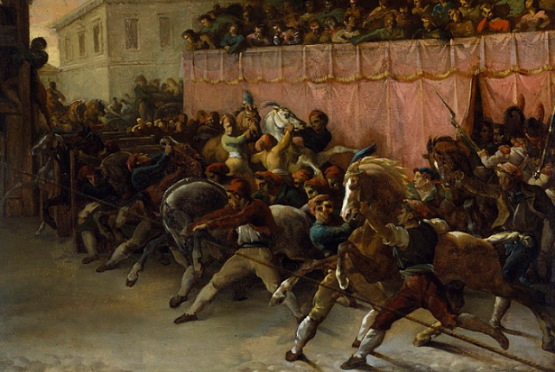 corsa dei berberi roma