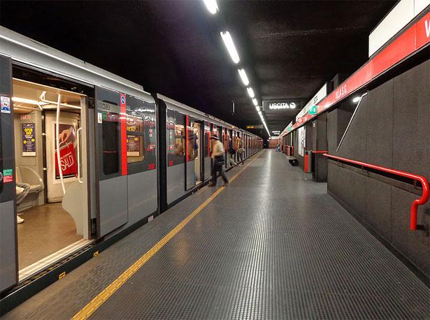 vagoni metropolitana milano