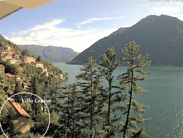 casa lago como webcam