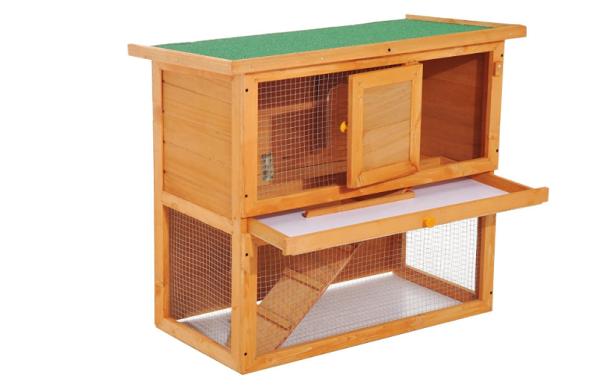 casetta per conigli in legno abete
