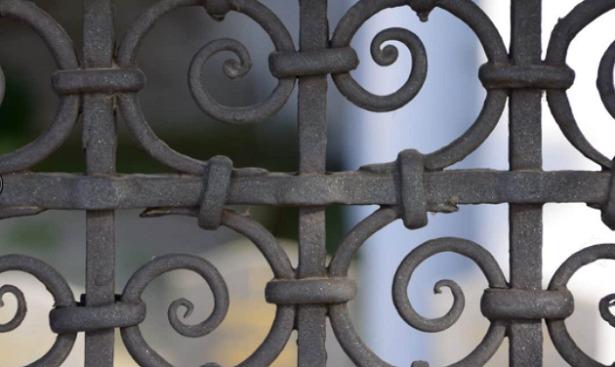 Smalto ferromicaceo cancello