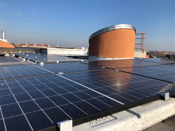 pannelli solari inverno