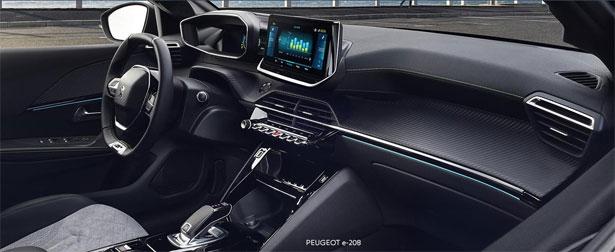 cruscotto Peugeot e208