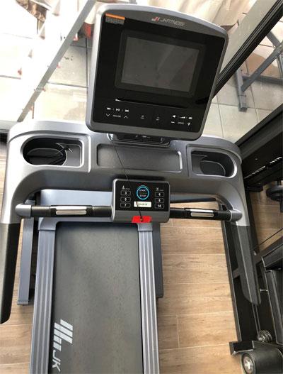 tapis roulant jk fitness 167