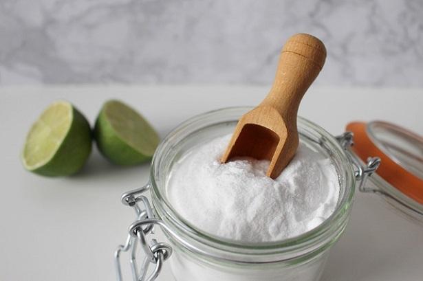 bicarbonato di sodio per l'igiene green