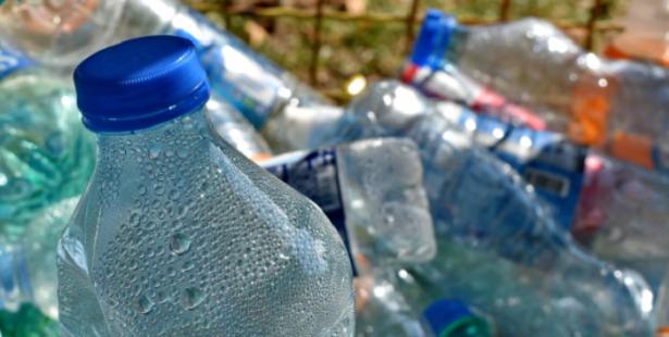 bottiglie plastica usate