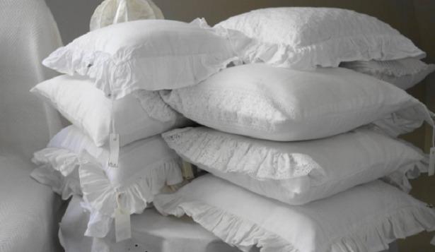 cuscini da lavare bianchi