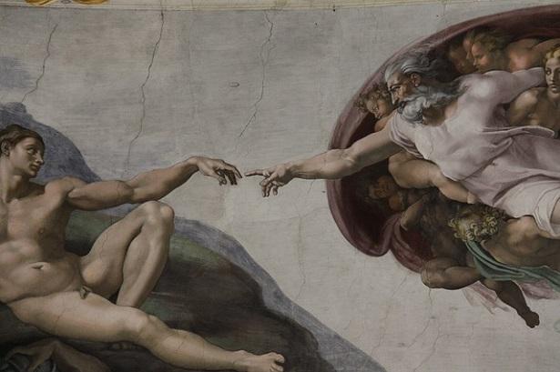 Creazione di Adamo - Cappella Sistina