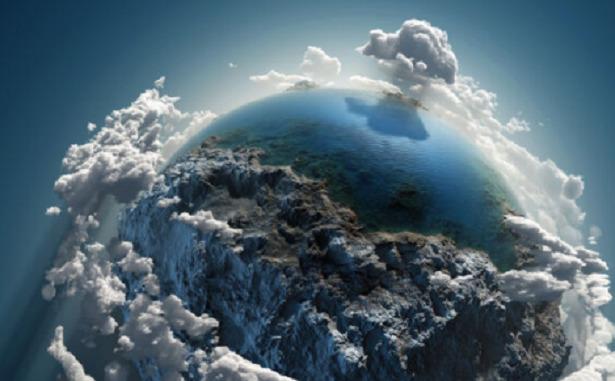 terra in atmosfera