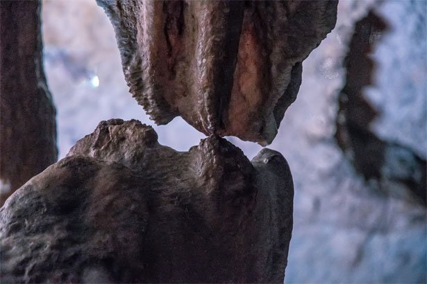 Bacio degli innamorati - Grotte di Pertosa