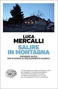 Salire in montagna di Luca Mercalli: copertina