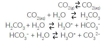 reazioni acidificazione oceani