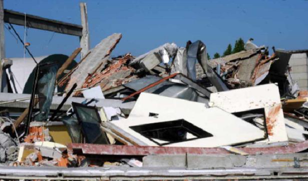 resti di terremoto
