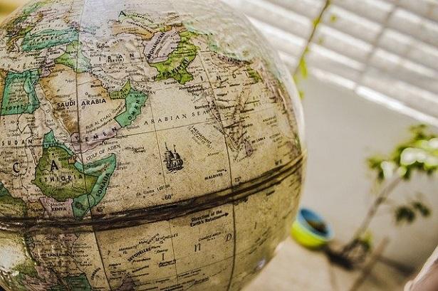 Tipologie di carte geografiche: mappamondo