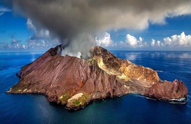 vulcano in Nuova Zelanda