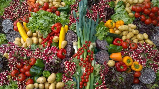 verdure colorate
